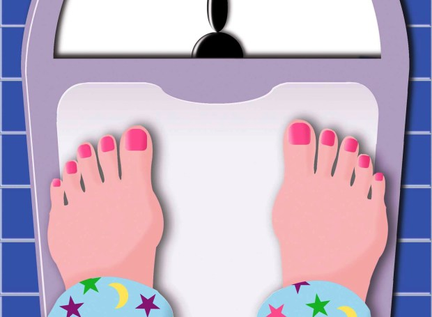 New years resolution: I will get on the bathroom scale every morning, even when it makes me scream