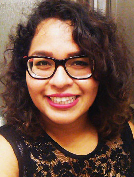 Cal State Fullerton student researcher Adriana Solis was honored by the Society for Advancement of Chicanos/Hispanics and Native Americans. (Photo courtesy of Cal State Fullerton)