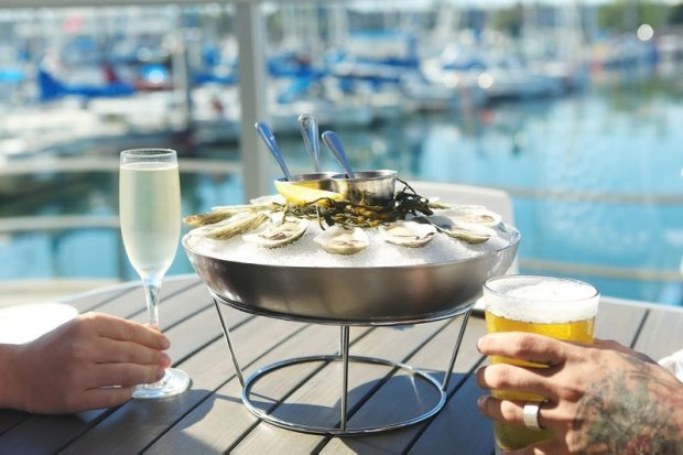 Oysters over ice are on the menu at Sea Level Restaurant during Die Redondo Restaurant Week. Photo courtesy Dine Redondo