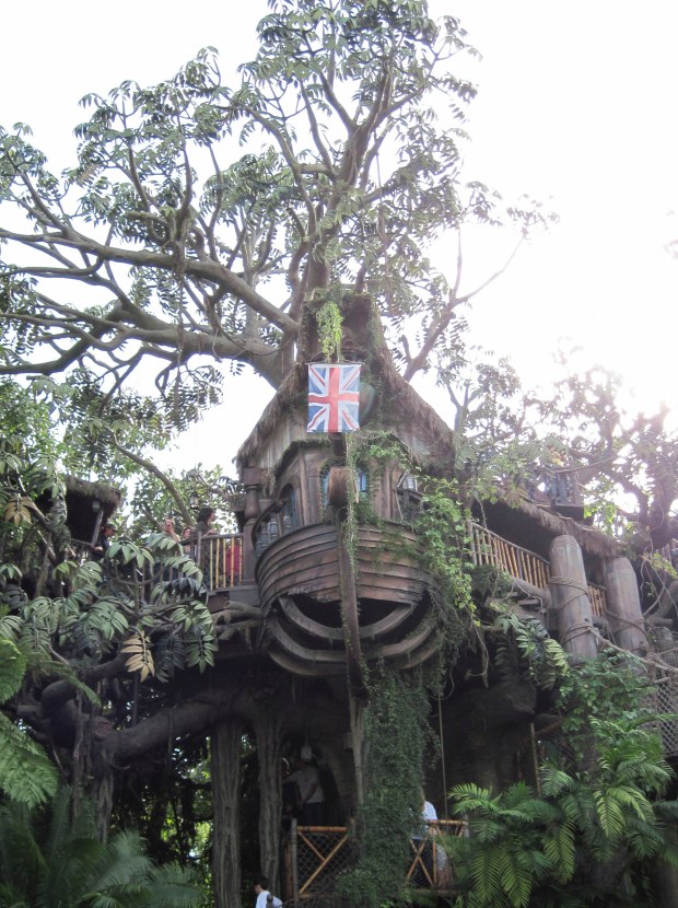 Tarzan's Treehouse, formerly the Swiss Family Robinson Treehouse in Adventureland at Disneyland. (File photo by Mark Eades, Orange County Register/SCNG)