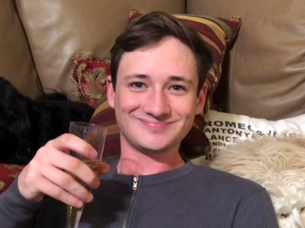 FILE--This undated file photo provided by the Orange County Sheriff's Department shows Blaze Bernstein. A suspect has been arrested in the death of 19-year-old University of Pennsylvania student Bernstein, whose body was found this week at a Southern California park. (Orange County Sheriff's Department via AP, file)