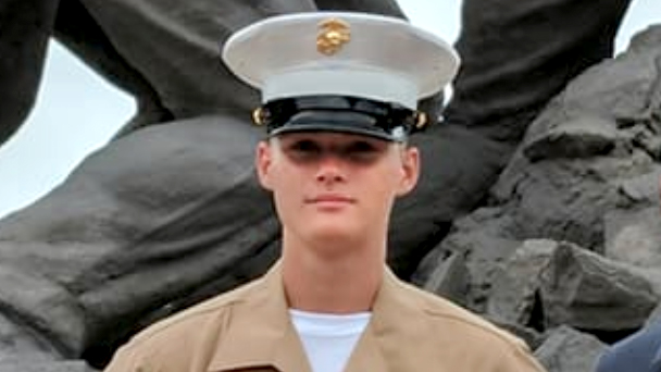 Marine Pfc. Ethan Andrew Barclay-Weberpal, 18, was fatally stabbed by another Marine on Jan. 16, 2018. (Courtesy of Facebook)