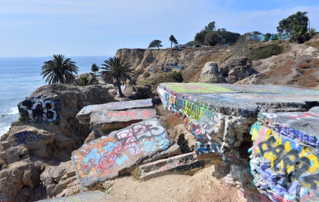Sunken City is along the cliffs in San Pedro between Gaffey Street and Pacific Avenue. Daily Breeze/Brad Graverson