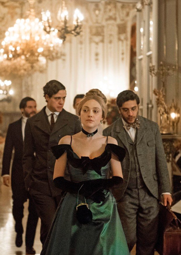 "Dakota Fanning plays an ambitious young woman in the TNT limited series ""The Alienist,"" based on Caleb Carr's thriller."
