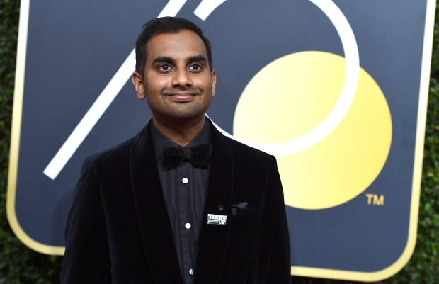 "The publication of an account by a woman identified only as ""Grace"" detailing her 2017 encounter with comedian Aziz Ansari intimated that Ansari deserved inclusion in the ranks of abusive perpetrators, yet many readers -- women and men -- concluded the encounter amounted to an all-too-common instance of bad sex during a date gone awry. (Photo by Jordan Strauss/Invision/AP)"
