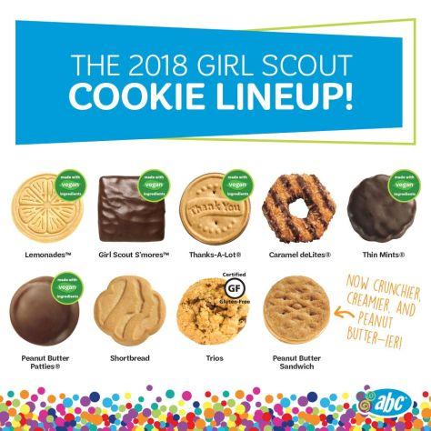 girl scouts cookie dough makes g i r l power possible