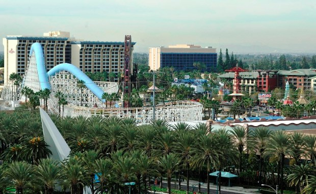 Overview of the three hotels at the Disneyland Resort in Anaheim