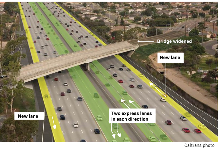 Whats An Hov Lane Caltrans State Of California >> Here Are The Major Highway Improvement Projects Happening In