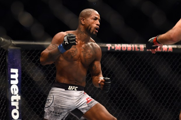 Bobby Green, seen during his Fight of the Night split draw with Lando Vanatta at UFC 216 in October, is coming off a unanimous-decision win over Erik Kock at UFC on Fox 27 on Saturday. (Hans Gutknecht/SCNG)