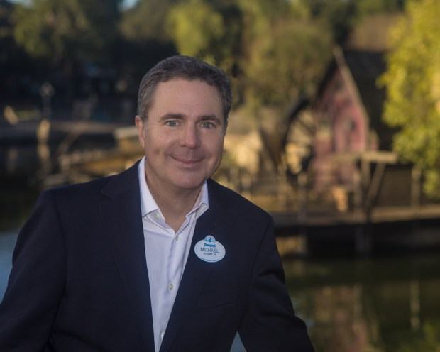 Michael Colglazier, who's been president of the Disneyland Resort for five years, will take on a new job overseeing Disney's Asian operations on March 5, 2018, officials announced on Jan. 31. Photo courtesy of Disney.