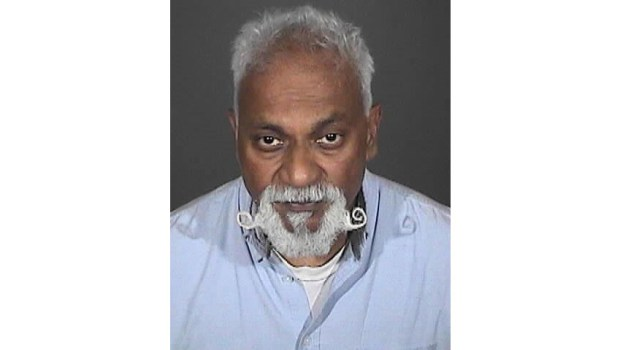 Arroyo High School teacher Richard Paul Daniels, 56, of Fontana, was sentenced to three years in prison for having a sexual relationship with a student. (Courtesy of the El Monte Police Department)