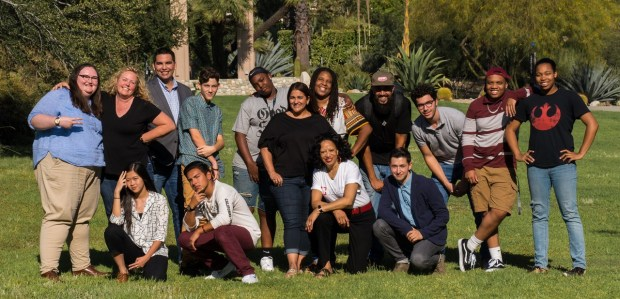 Youth Mentoring Action Network's board, pictured, includes high school and college members. The group is looking for volunteer mentors in the Inland area, specifically, Rancho Cucamonga, Fontana and Rialto.(Photo courtesy of Youth Mentoring Action Network)