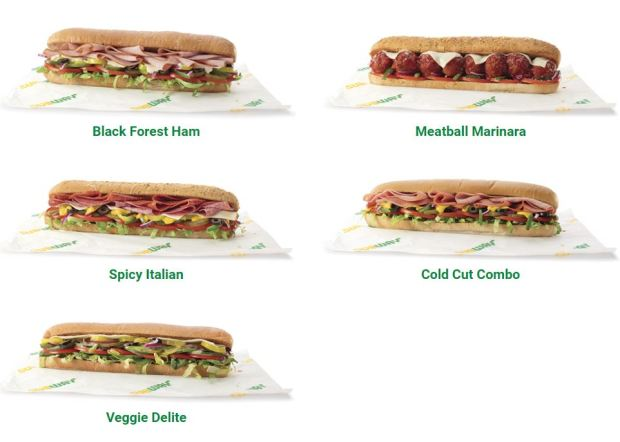 The $4.99 12-inch sandwich promotion launched Monday, Jan. 1 at participating Subway restaurants across the nation including roughly 785 Subway restaurants in Los Angeles and Orange County. (Courtesy Subway)