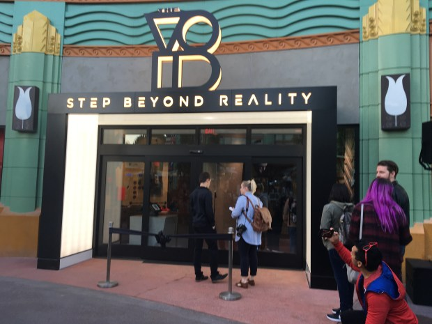 Exterior of The Void Star Wars attraction at Downtown Disney, Anaheim. Photo by Marla Jo Fisher, Orange County Register