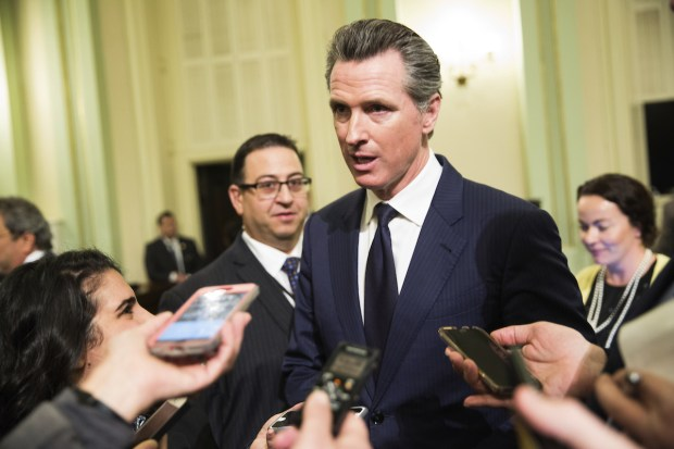 Lt. Gov. Gavin Newsom FILE PHOTO