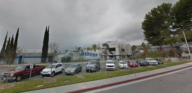 Saugus High School in Santa Clarita (Google Street View)