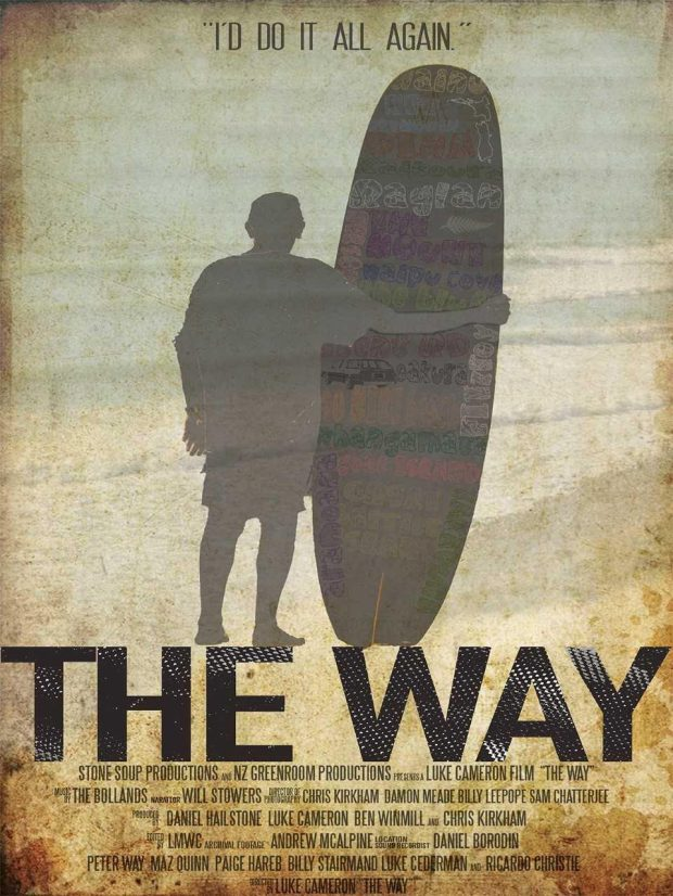 """The Way"" explores the impact Peter Way, New Zealand's first national surf champion, had on other surfers in his country. (Photo courtesy of Huntington Beach Film Festival)"