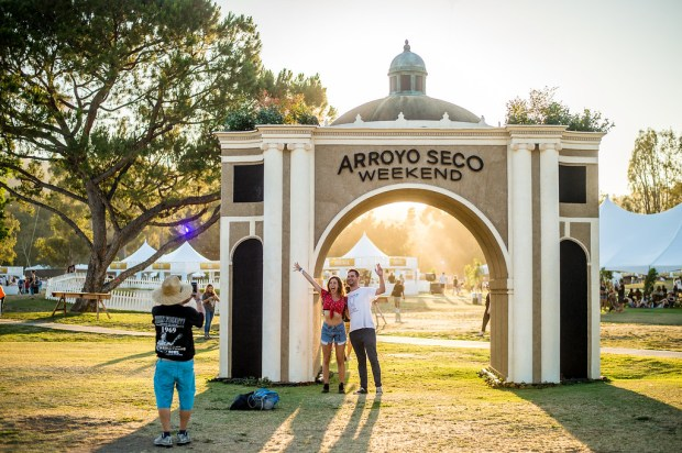 Arroyo Seco Weekend returns to the Brookside Golf Course in Pasadena, Calif. June 23-24. . The Archway also returns this year. (Photo by Watchara Phomicinda, The Press-Enterprise/SCNG)