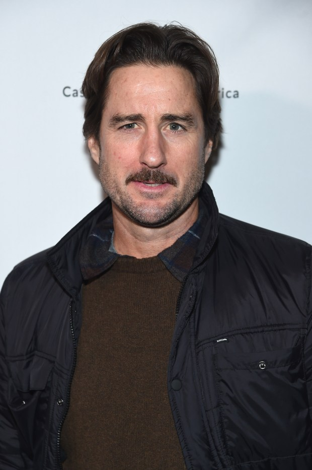 Actor Luke Wilson was involved in a crash Tuesday, Feb. 13, 2018, that killed a Ferrari driver, injured that vehicle's passenger -- pro golfer Bill Haas -- and also injured the driver of a BMW. Wilson is seen above in a Jan. 18 photo. (Photo by Jamie McCarthy/Getty Images)