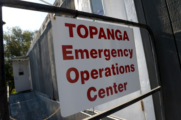 The Topanga Emergency Operations Center is run by volunteers to keep the community updated in case of disasters. (Photo by David Crane, Los Angeles Daily News/SCNG)
