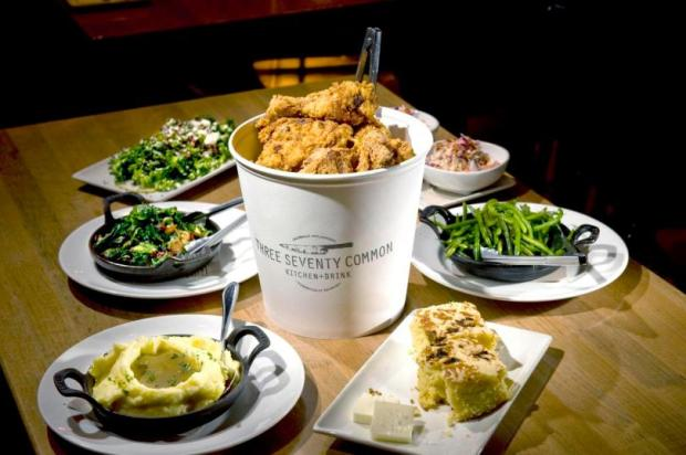 Chef Ryan Adams of Three Seventy Common is turning his bucket of fried chicken with sides into a fast casual concept in Orange. (PAUL RODRIGUEZ, STAFF PHOTOGRAPHER )