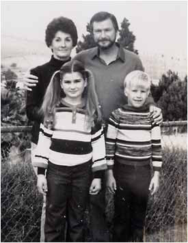 Portrait of Doug and Peggy Ryen with their daughter Jessica, 10, and son Joshua, then 8-years-old. Joshua was the only survivor of the 1983 incident. (File courtesy photo, Inland Valley Daily Bulletin/SCNG)
