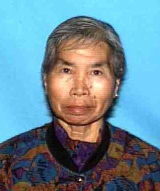 Shun Kwan Ng, of Rosemead, was last seen at her residence in the 3100 block of Muscatel Avenue around 11 p.m. Tuesday. (Photo courtesy of the Los Angeles County Sheriff's Department)