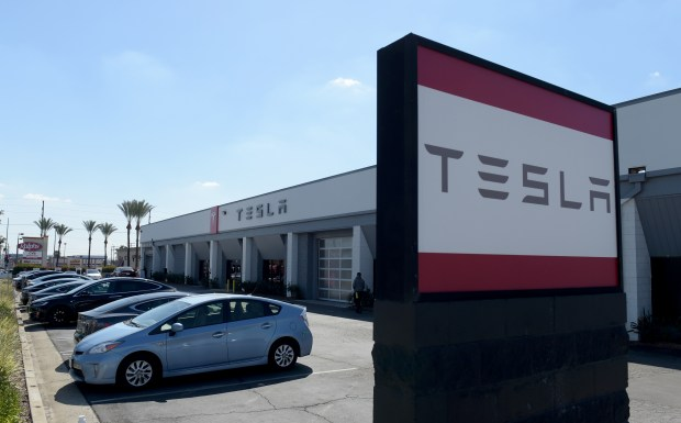 Tesla is expanding in burbank and it s got a city charged for Electric motor repair los angeles