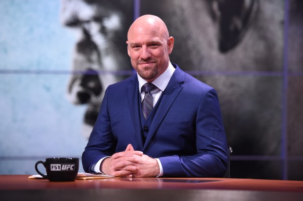 UFC analyst Jimmy Smith. (Photo courtesy of FOX Sports)