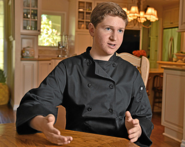 "Holden Dahlerbruch, a high schooler from Rancho Palos Verdes, was a contestant on ""Man vs. Child: Chef Showdown"" in 2015. Now he's competing in a meatball competion in New York (File Photo by Robert Casillas / Daily Breeze)"