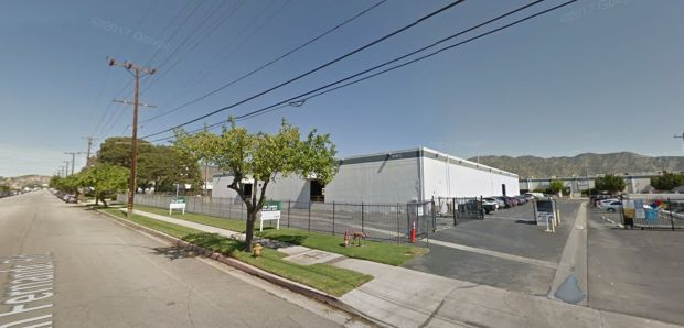 An electrical fire broke out early Wednesday, March 7, 2018, at Quallion, 12744 San Fernando Road in Sylmar. The company makes lithium ion battery systems for medical, space and defense applications. (Google Street View)