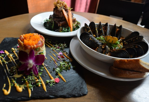 """The Federal Bar in Long Beach has a new chef Tia Baker, who is revamping the menus to create what she calls """"Retro California Fusion Cuisine."""" You can eat here before the Smokin' Grooves concert at the Queen Mary June 16. Photo by Brittany Murray, Press Telegram/SCNG"""