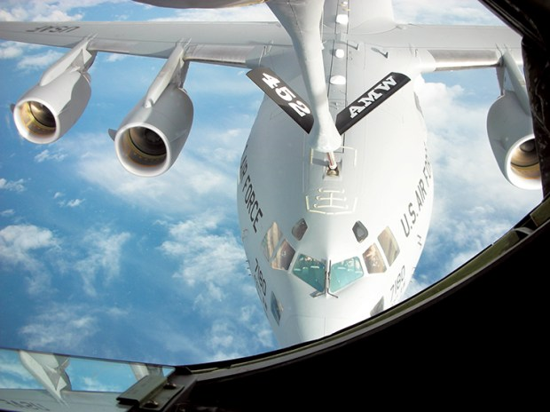 C-17 being refueled_online