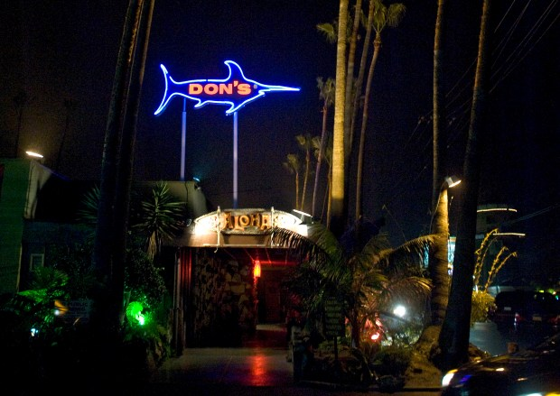 Don the Beachcomber is a landmark in Sunset Beach. (File photo by Cindy Yamanaka, Orange County Register/SCNG)