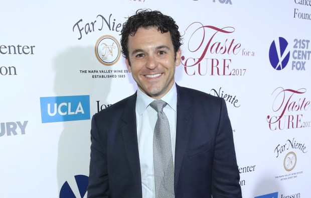 "Fred Savage has been sued by a costume department worker on the now-canceled Fox comedy ""The Grinder."" In the lawsuit filed Wednesday, March 21, 2018, she says Savage subjected her and other women on the set to profane and abusive language. She also alleges that he harassed and intimidated her and on one occasion hit her three times on the arm. (2017 photo by Jonathan Leibson/Getty Images)"