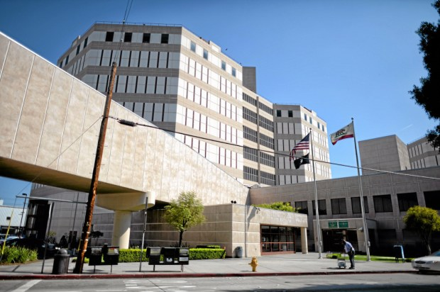 The Los Angeles County Sheriff's Twin Towers Correctional Facility Tuesday, April 14, 2015. The Sheriff's department is seeking 99.2 million dollars for the next fiscal year to enhance the Sheriff's Custody Division and improve the jail environment for employees and inmates. (Photo by Hans Gutknecht/Los Angeles Daily News)