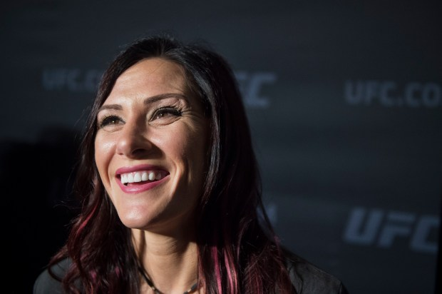 No. 6 UFC women's bantamweight Cat Zingano during UFC 222 Ultimate Media Day at the MGM Grand Casino, Thursday, March 1, 2018. (Hans Gutknecht, Los Angeles Daily News/SCNG)