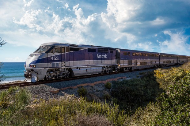 Amtrak Pacific Surfliner has launched the California Everyday Discounts program for seniors, students and passengers with disabilities. (Photo courtesy of Amtrak).