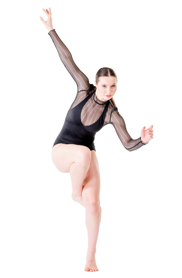 Isabelle Erlanson of Crean Lutheran High School is a dance semi-finalist in the specialty of commercial dance. (Photo by Leonard Ortiz/Orange County Register/SCNG)