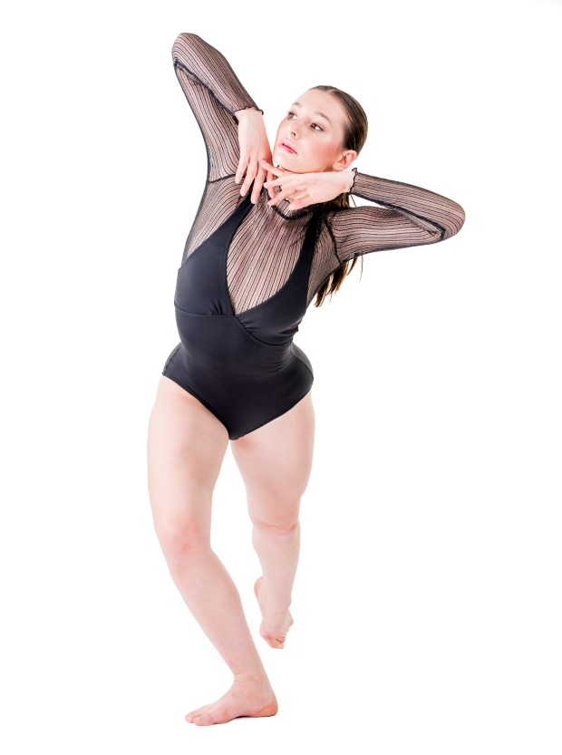 Isabelle Erlanson of Crean Lutheran High School is a dance semifinalist in the specialty of commercial dance. (Photo by Leonard Ortiz/Orange County Register/SCNG)