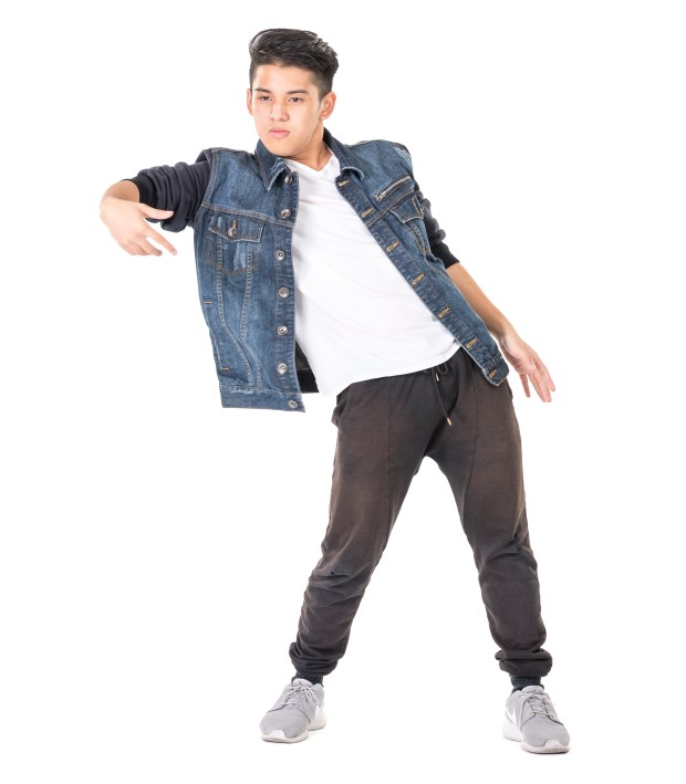 William Castro of Saddleback High School is a dance semifinalist in the specialty of street dance. (Photo by Leonard Ortiz/Orange County Register/SCNG)