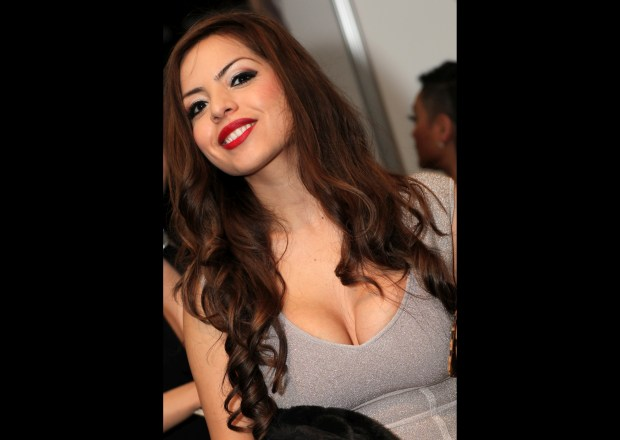 Adult film star Yurizan Beltran, seen in a 2013 photo, died on Dec. 13, 2017, primarily of an accidental drug overdose, said the LA County coroner's office. (Photo by Michael Dorausch reproduced under the CC-by-2.0 license)