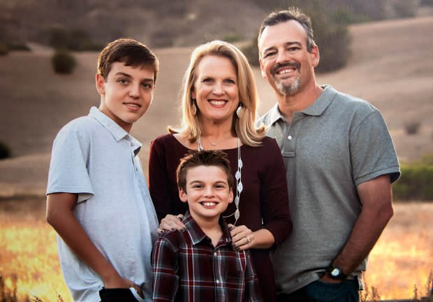 A photo taken three year ago of Lisa and Joel Wittenberg with their sons Tommy, left, and Andrew.(Photo Courtesy of the Wittenberg family)
