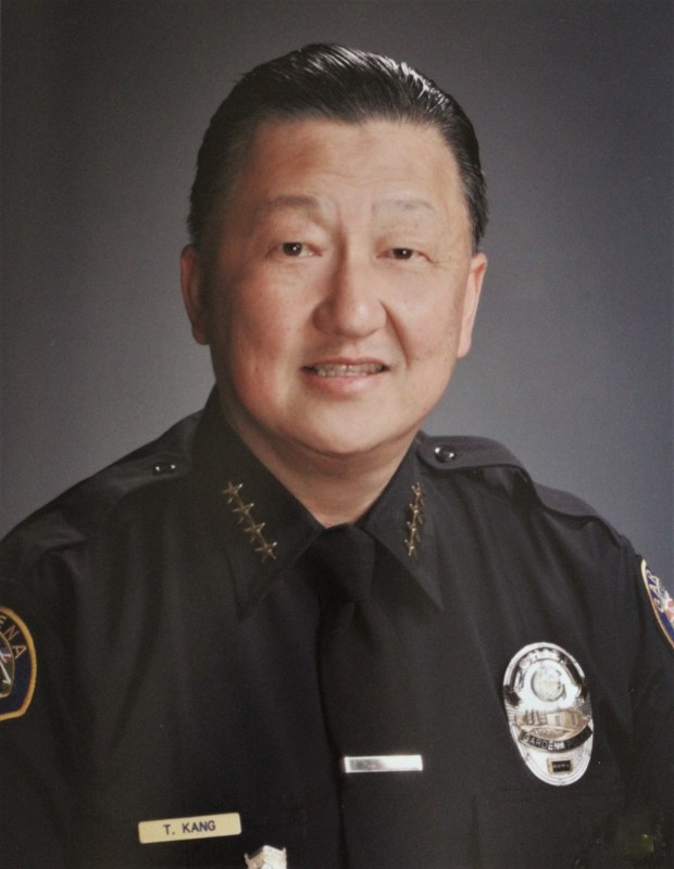 Thomas Kang was sworn in as Gardena Police Department's new chief of police, April 16. Kang has 36 years of law enforcement experience, 30 of which have been spent in Gardena. (Courtesy of Gardena Police Department)