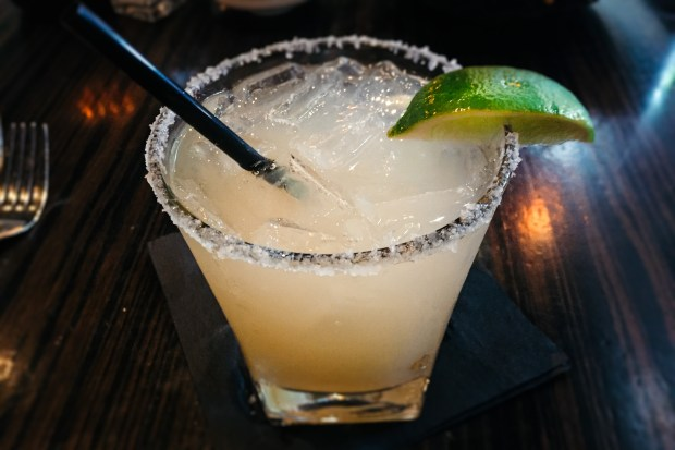 Classic Cadillac Margarita at Javier's in Crystal Cove. (Photo by Brad A. Johnson, Orange County Register/SCNG)