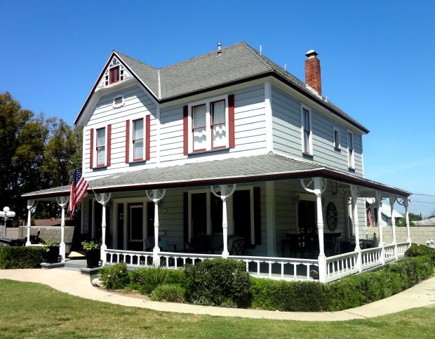 This Victorian Farmhouse on East Grand Boulevard will be part of Corona's Vintage Home Tour on Saturday, May 12. Photo courtesy of Corona Historic Preservation Society