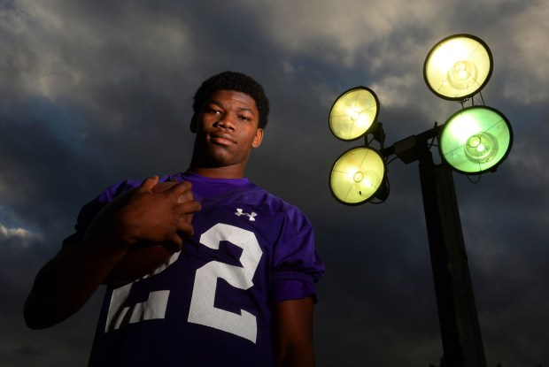 Rashaad Penny had a huge season as a Norwalk High senior in 2013. (Photo by Scott Varley, Daily Breeze) ""