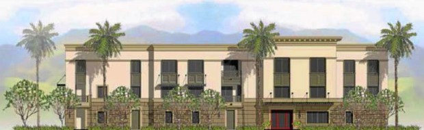 Rendering of proposed Nelles property development.. Nov. 11, 2013. (Courtesy graphic)