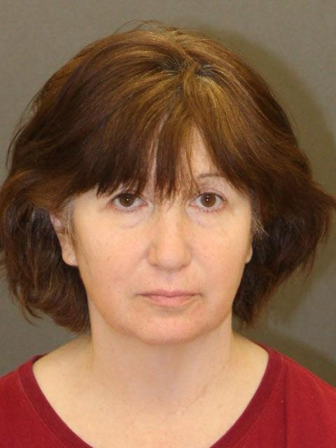 This booking mug shows Jill Blackstone, a TV producer who was arrested on Thursday, April 12, 2018, on suspicion of killing her sister at their Studio City home in 2015. (Photo courtesy LAPD)