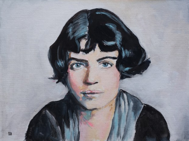 Margaret Mead by Allison Adams is a part of the Groundbreaking Girls collection on exhibit at on exhibit through April 14 at OC Contemporary Gallery in San Clemente.